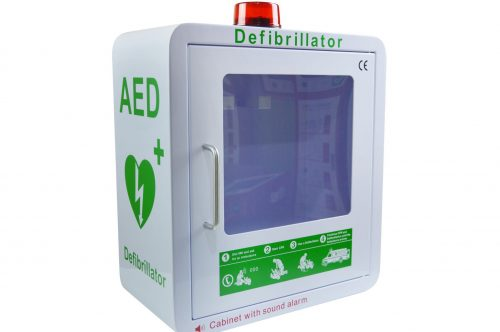 Defibrillator Cabinets and Wall Brackets